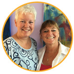 KiK opleiding: Margrete Stoute en Carla Muijsert-van Blitterswijk