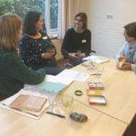 Actieve les met de deelnemers van Kindercoach Kind in Kracht opleiding Nederland