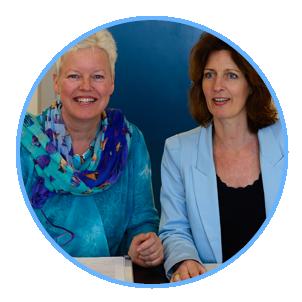 training spiegelcoaching wordt gegeven door Margrete Stoute en Karin Tooren