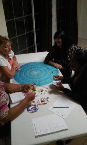 Carla Muijsert geeft les aan deelnemers van KIK opleiding Curacao
