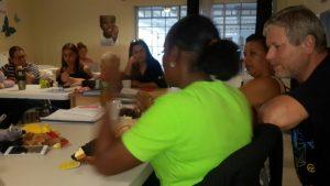 Rob Muijsert geeft les aan deelnemers van KIK opleiding Curacao