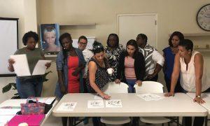 deelnemers KIK opleiding Curacao starten met een les