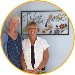 Margrete Stoute en Carla Muijsert van KIK opleidingen