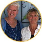 Margrete Stoute en Carla Muijsert