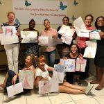 deelnemers KIK Opleiding Curacao 2019 presenteren een lesopdracht
