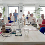 diploma uitreiking KIK Opleiding 2020 met deelnemers en docent Margrete Stoute